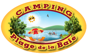 Camping plage de la baie - camping lac william